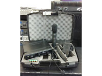 Chord UHN2 Double Radio Mic Kit with Handheld and Headset