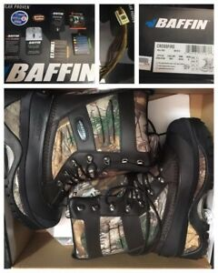 BRAND NEW Baffin Men's CROSSFIRE Snow Boots w/FREE extra LACES