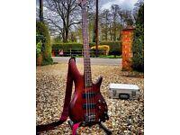 Ibanez SR 500 Bass guitar. BM Brown Mahogany