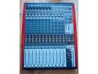 Behringer XENYX UFX1604 mixer, interface and stand-alone multitrack recorder! Perfect condition!