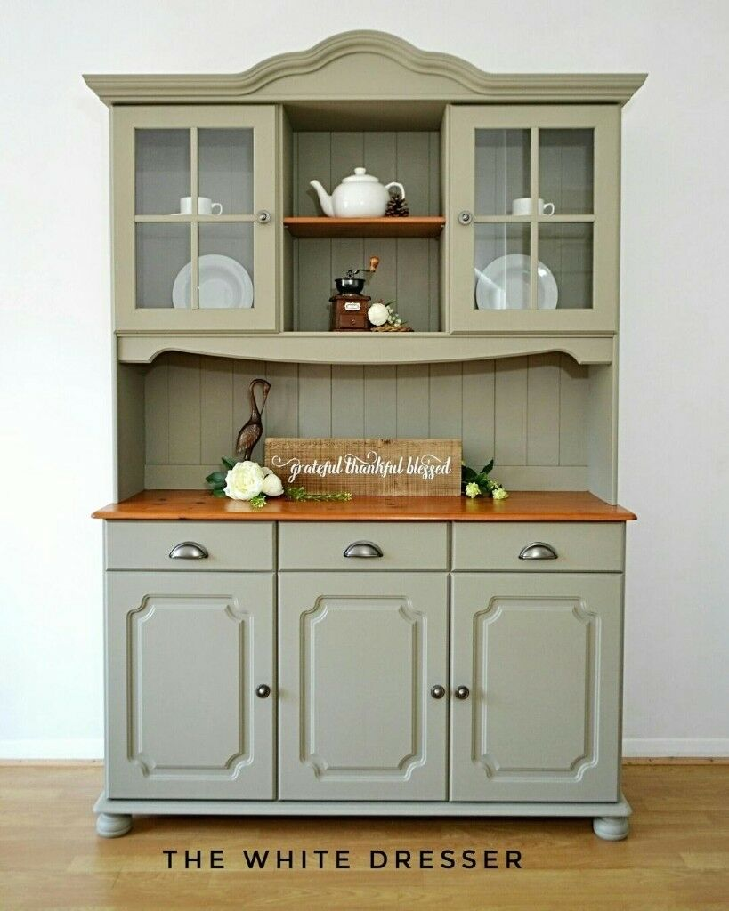 Welsh Dresser French Pine Kitchen Hand Painted