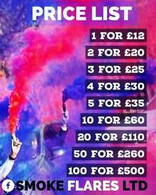 Colour smoke grenades/flares