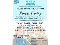 Pamper Evening Therapists Required