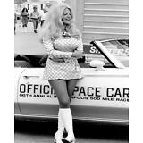 Beautiful Hot Sexy Drag Racing Linda Vaughn 1970's Pin Up  8x10 Print