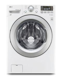 LG WM3170CW 5.0 Cu. Ft. Front Load Washer with 6Montion Technology