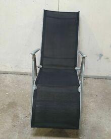 Malibu Metal Recliner Chair - Black No110514
