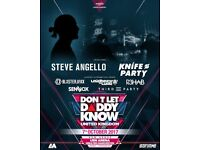 Don't let daddy know UK x2 tickets