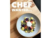 Chef de partie wanted: full-time