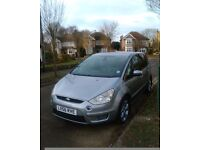 FORD S MAX 2007 TITANIUM TDCI DIESEL 7 SEATER ONE OWNER FULL HISTORY. £2800