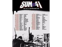 2 x General Admission Sum 41 Bristol Academy 3rd March
