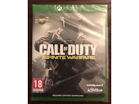 Xbox One Call of Duty Infinite Warfare game Brand New & Sealed not for ps4
