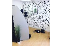 Glasgow City Centre Salon or Therapy Room or Shop Unit For Let £20 per day