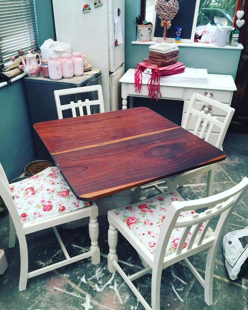 Shabby Chic Dining Table And Chairs Knottingley West Yorkshire