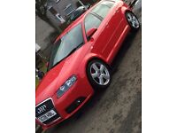 Lovely red audi a3 sline for sale