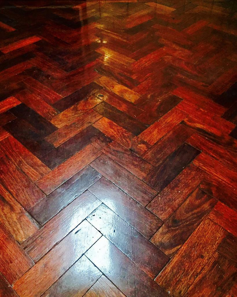 Cheap Mahogany Parquet floor