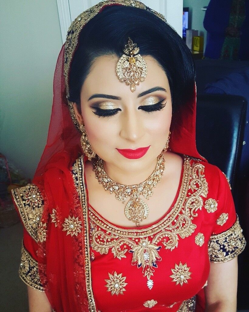 Asian bride make up artists