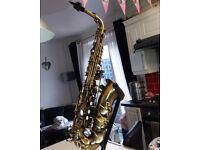 alto saxophone as new
