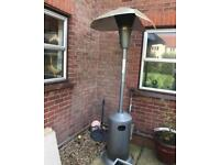 Outdoor heater for fixing