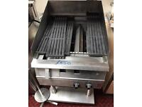 FALCON 2 BURNER GRILL WITH WATER TRAY