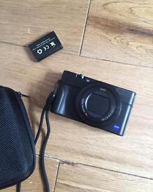 Sony Rx100 mk3 new batteries case box and 16gb