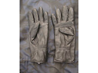 mk2 British Army Issue Leather Combat Gloves, Size 9