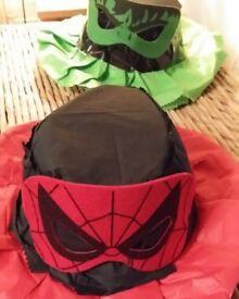 Easter bonnet Spider man inspired