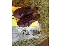 Fly London Rug purple trainers