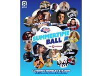 1x Golden circle summertime ball