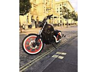 Kawasaki VN750 bobber Chopper Hardtail Low Rider Custom Motorcycle Motorbike