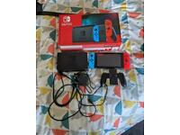 Nintendo Switch 32GB Red / Neon Console (Improved Battery)