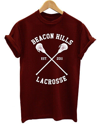TEEN WOLF BEACON HILLS LACROSSE TEAM VAMPIRES DIARIES UNISEX T SHIRT ()