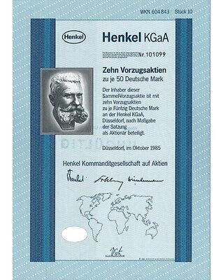 Henkel KGaA 10x50DM 10/1985