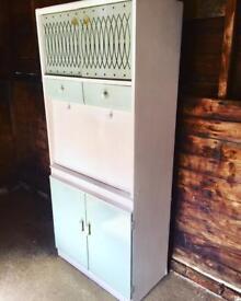 Retro Vintage Kitchenette Kitchen Larder by Remploy