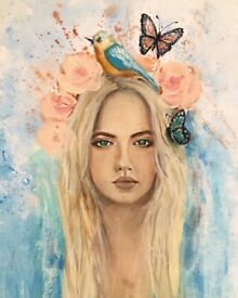 Free to be a4 artwork original