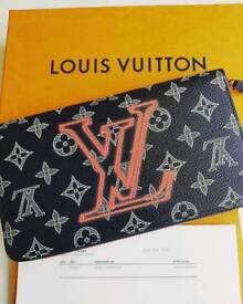 1/12 Louis Vuitton Monogram Upsidedown Zippy Wallet - sold out worldwide! Kim Jones