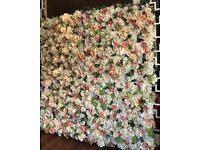 UNIQUE FLOWER WALL 2*2m FREE DELIVERY £239 A DAY