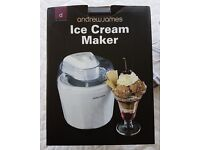 'andrew james' Ice Cream Maker with Spare Bowl