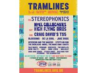 2 x Weekend Tramlines Festival Ticket