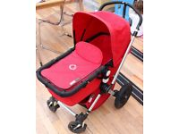 Bugaboo Chameleon with seat, carry cot, foot muff and rain cover