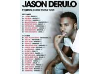 JASON DERULO TICKETS X2