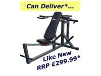 LikeNew Lever Weights Bench press. •Can Deliver•