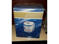 New Electric Mini Portable Washer Washing Machine Table Top New in Box
