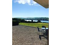 Beauty room to rent with stunning views across the River Teign
