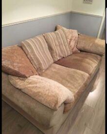 Large 3 Seater Sofa - £50