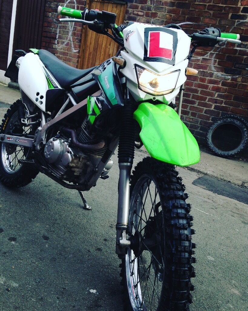 kawasaki klx 125 road legal in runcorn cheshire gumtree. Black Bedroom Furniture Sets. Home Design Ideas