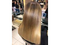 Someone to come into Richard Ward salon for a one length cut and blowdry on a Tuesday in October.