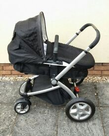 Mothercare my4 pram with carry cot/seat unit