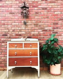 Vintage Chest Of Drawers / dresser / antique furniture SOLD