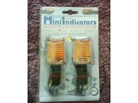Oxford mini indicators, motorcycle, motorbike, bike
