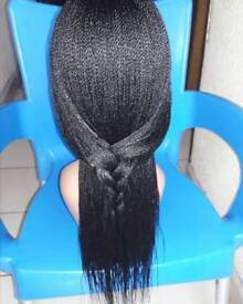 Twist braid wig